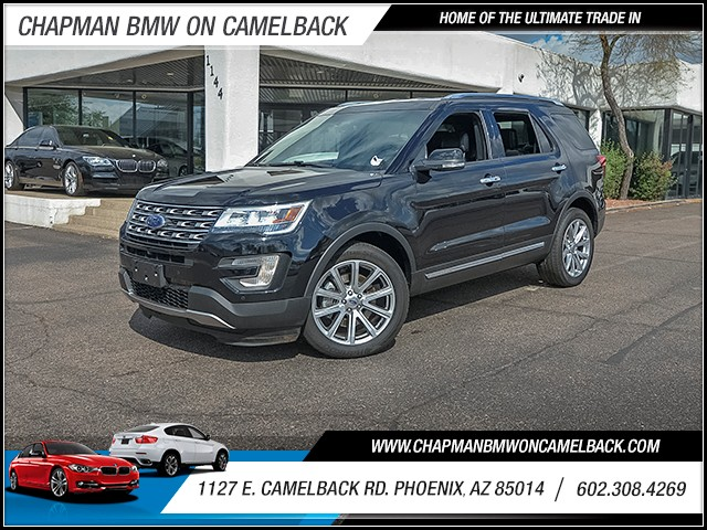 2016 Ford Explorer Limited 20048 miles 6023852286 1127 E Camelback Rd Chapman Value center o