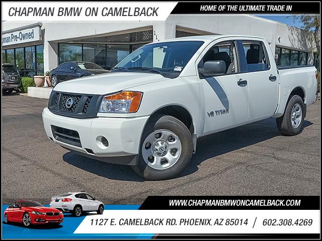 2015 Nissan Titan S Crew Cab 12981 miles 6023852286 1127 E Camelback Rd Chapman Value center