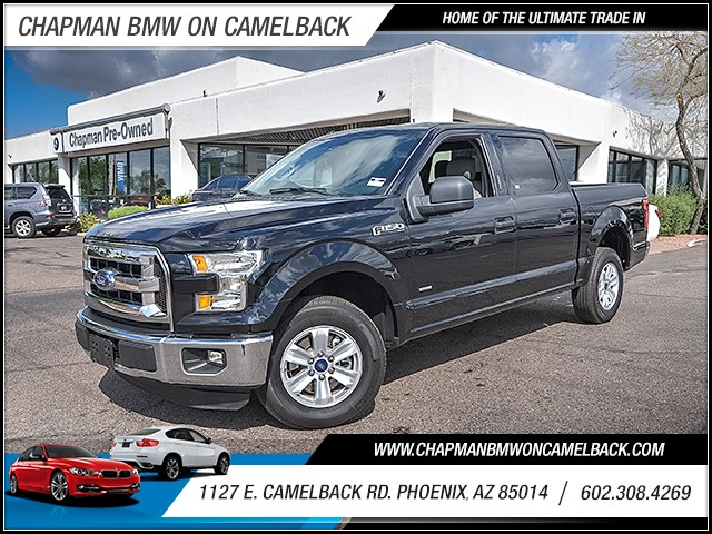 2016 Ford F-150 XLT Crew Cab 17063 miles 6023852286 1127 E Camelback Rd Chapman Value center