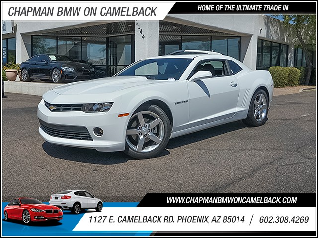 2014 Chevrolet Camaro LT 44889 miles 6023852286 1127 E Camelback Rd Chapman Value center on