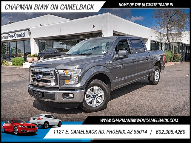 2016 Ford F-150 XL Crew Cab 21739 miles Anti-theft system engine immobilizer Steering wheel ti