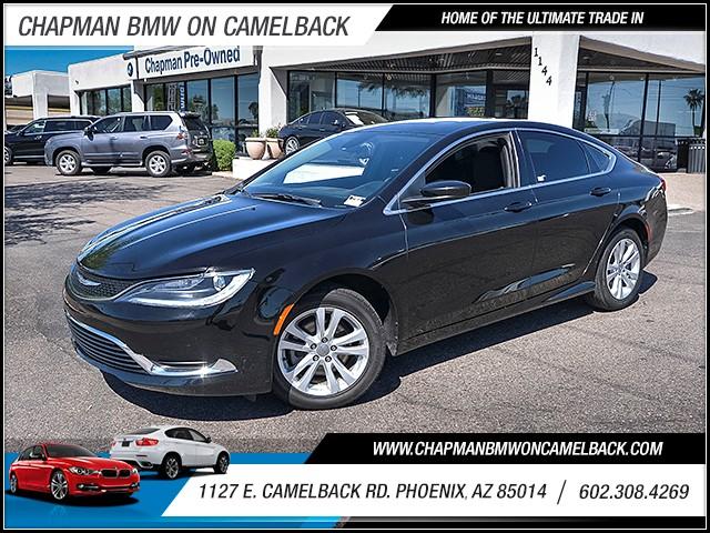 2015 Chrysler 200 Limited 41144 miles 6023852286 1127 E Camelback Rd Chapman Value center on
