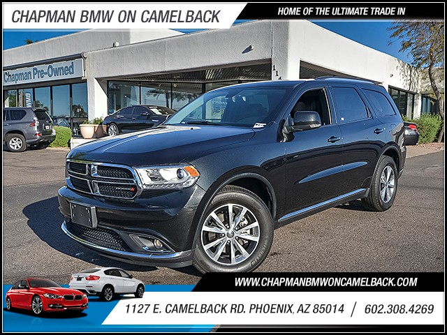 2016 Dodge Durango Limited 28184 miles 6023852286 1127 E Camelback Rd Chapman Value center o