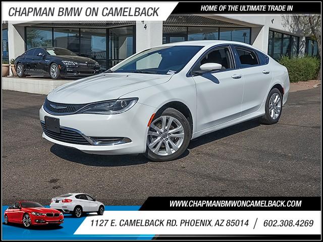 2015 Chrysler 200 Limited 43905 miles 6023852286 1127 E Camelback Rd Chapman Value center on