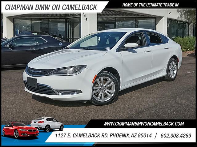 2015 Chrysler 200 Limited 42280 miles 6023852286 1127 E Camelback Rd Chapman Value center o