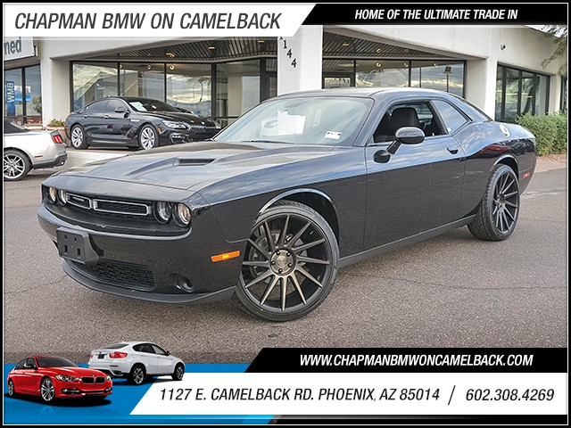 2016 Dodge Challenger SXT 23563 miles 6023852286 1127 E Camelback Rd Chapman Value center o