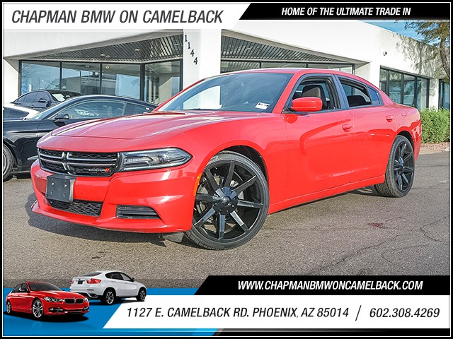 2015 Dodge Charger SE 36578 miles Wireless data link Bluetooth Cruise control 2-stage unlocking