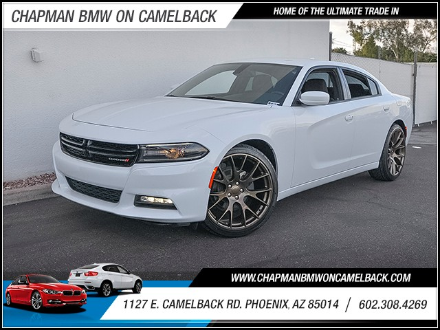 2016 Dodge Charger SXT 35034 miles 6023852286 1127 E Camelback Rd Chapman Value center on C