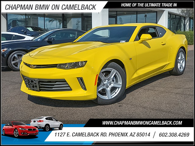 2016 Chevrolet Camaro LT 27503 miles Satellite communications OnStar Wireless data link Bluetoot