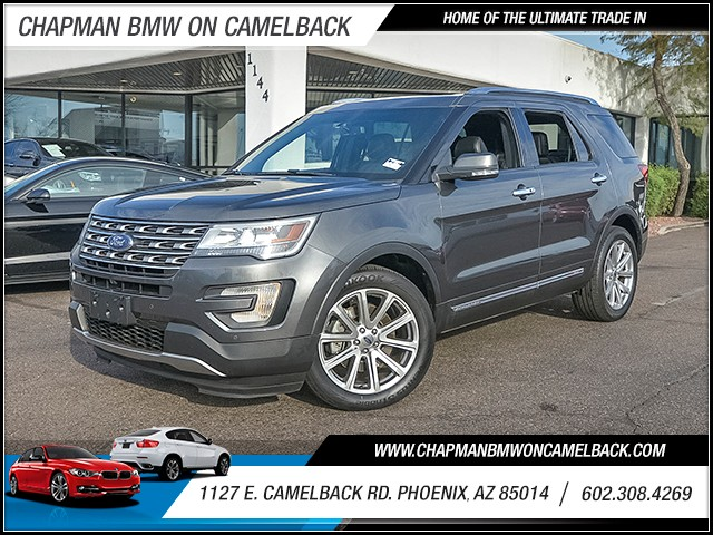 2016 Ford Explorer Limited 21149 miles Wireless data link Bluetooth Electronic messaging assista