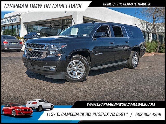 2016 Chevrolet Suburban LT 1500 16715 miles Satellite communications OnStar Wireless data link B