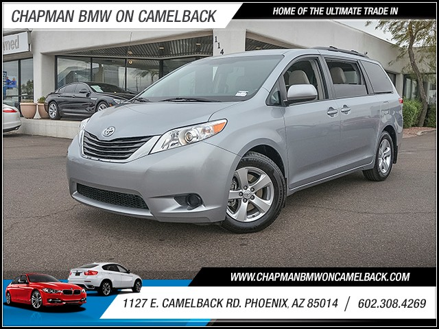 2013 Toyota Sienna LE 7-Passenger Auto Access Seat 50496 miles 6023852286 1127 E Camelback Rd