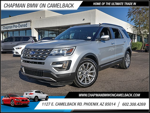 2016 Ford Explorer Limited 30738 miles Phone voice operated Wireless data link Bluetooth Electr