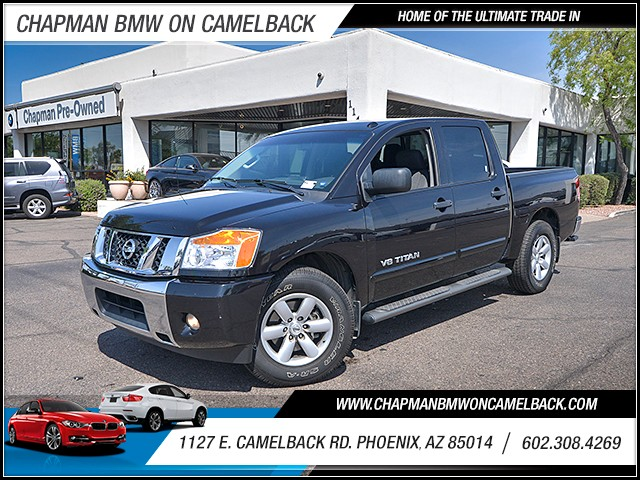 2014 Nissan Titan SV Crew Cab 40704 miles 6023852286 1127 E Camelback Rd Chapman Value cente