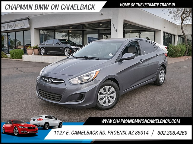 2015 Hyundai Accent GLS 40259 miles 6023852286 1127 E Camelback Rd Chapman Value center on C