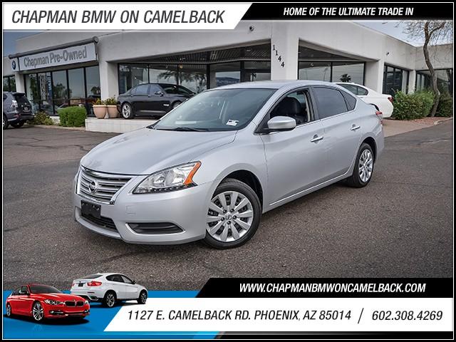 2015 Nissan Sentra SV 43584 miles 6023852286 1127 E Camelback Rd Chapman Value center on Cam