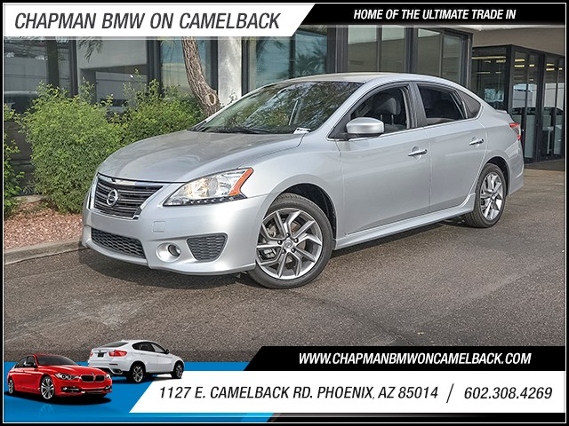 2014 Nissan Sentra SR 38114 miles 6023852286 1127 E Camelback Rd Chapman Value center on Cam