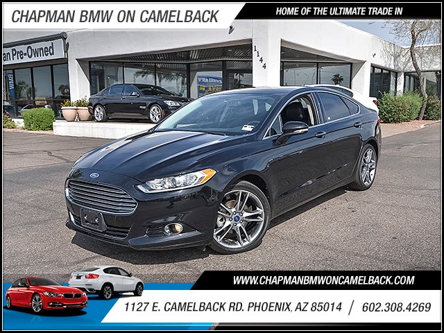 2016 Ford Fusion Titanium 41011 miles Real time traffic Phone voice operated Electronic messagi