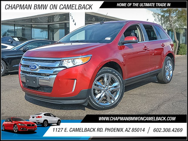 2013 Ford Edge Limited 62475 miles Wireless data link Bluetooth Real time traffic Electronic me