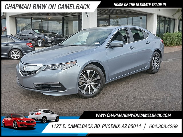 2015 Acura TLX 25676 miles 6023852286 1127 E Camelback Rd Chapman Value center on Camelback