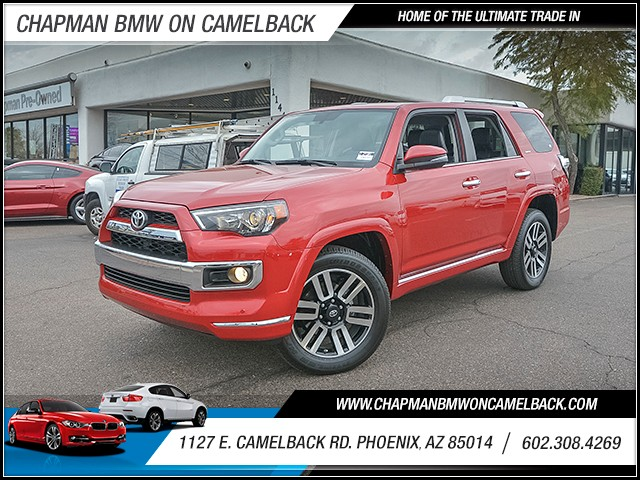 2016 Toyota 4Runner Limited 13911 miles 6023852286 1127 E Camelback Rd Chapman Value center