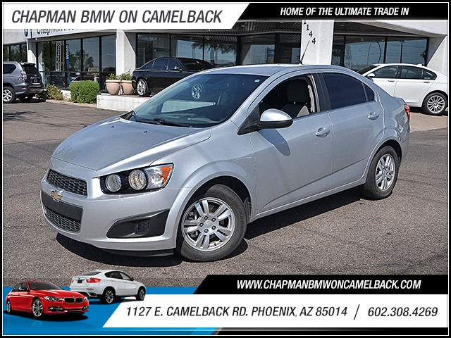 2013 Chevrolet Sonic LT 60577 miles 6023852286 1127 E Camelback Rd Chapman Value center on C
