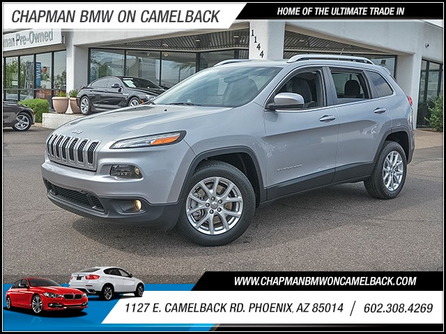 2014 Jeep Cherokee Latitude 49196 miles 6023852286 1127 E Camelback Rd Chapman Value center