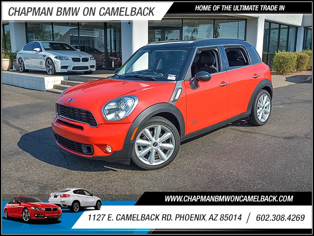 2011 MINI Cooper S  Countryman ALL4 59619 miles Cruise control 2-stage unlocking doors Steering