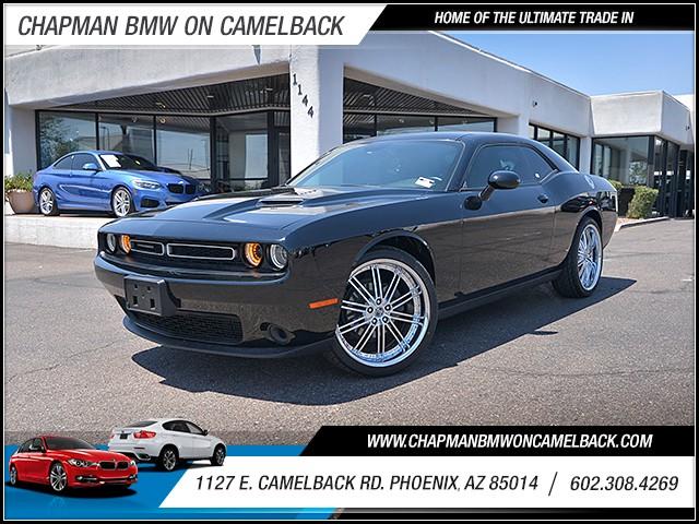 2016 Dodge Challenger SXT 31650 miles 6023852286 1127 E Camelback Rd Chapman Value center on