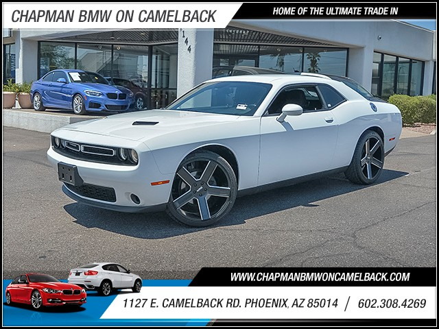 2016 Dodge Challenger SXT 24420 miles 6023852286 1127 E Camelback Rd Summer Sales Event on N