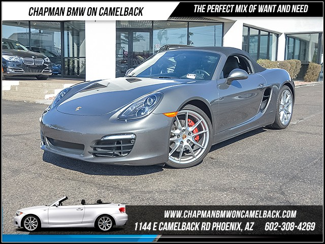 2014 Porsche Boxster S 17506 miles Chapman Value Center on Camelback is specializing in late mode