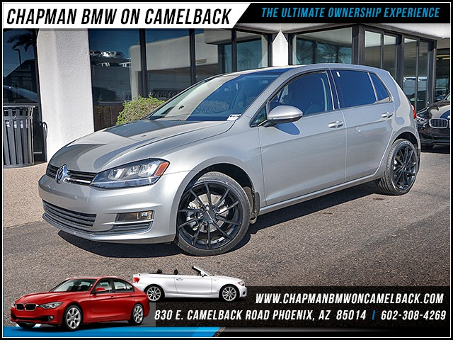 2015 Volkswagen Golf 18T S PZEV 25030 miles Chapman Value Center on Camelback is specializing in