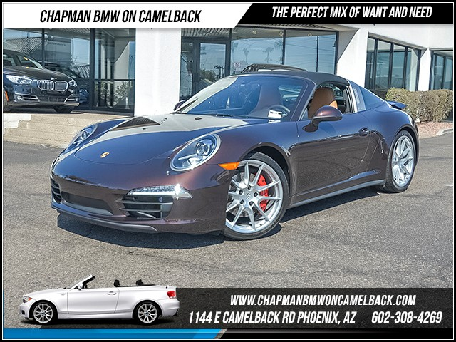2015 Porsche 911 Targa 4S 5054 miles Chapman Value Center on Camelback is specializing in late mo