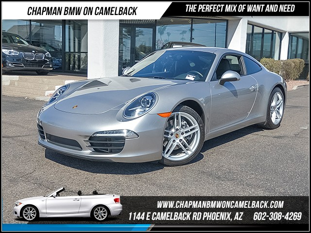 2013 Porsche 911 Carrera 36680 miles Chapman Value Center on Camelback is specializing in late mo