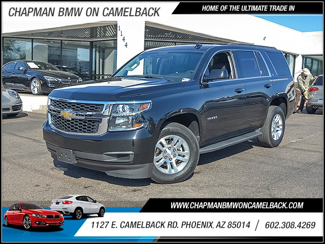 2017 Chevrolet Tahoe LT 19846 miles Chapman Value Center on Camelback is specializing in late mod