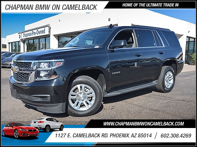 2017 Chevrolet Tahoe LT 33843 miles Chapman Value Center on Camelback is specializing in late mod