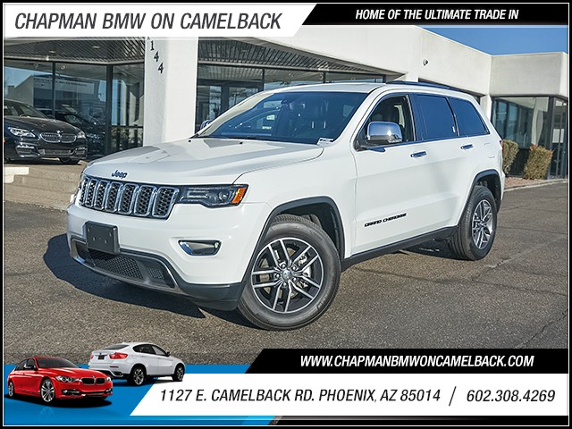2017 Jeep Grand Cherokee Limited 26886 miles Chapman Value Center on Camelback is specializing in