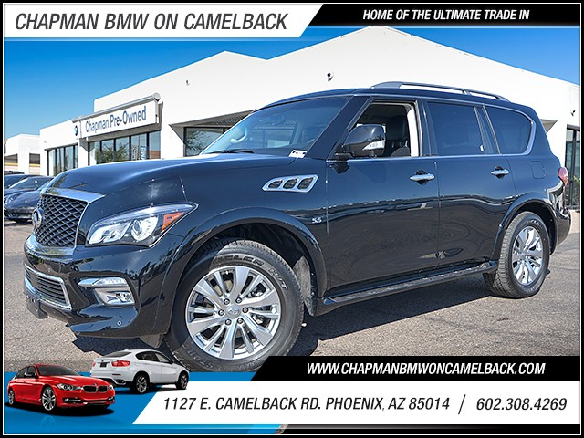 2017 INFINITI QX80 18506 miles 6023852286 Chapman Value Center in Phoenix specializing in la
