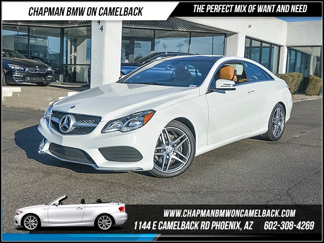 2016 Mercedes E-Class E 400 2533 miles Wireless data link Bluetooth Phone hands free Satellite