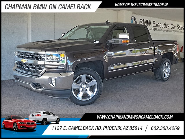 2016 Chevrolet Silverado 1500 LTZ Crew Cab 11561 miles 6023852286 Chapman Value Center in Ph