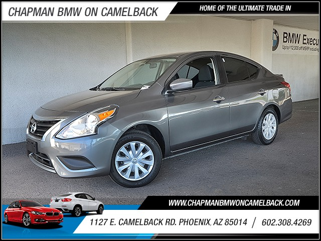 2016 Nissan Versa 16 S 46427 miles 6023852286 Chapman Value Center in Phoenix specializing