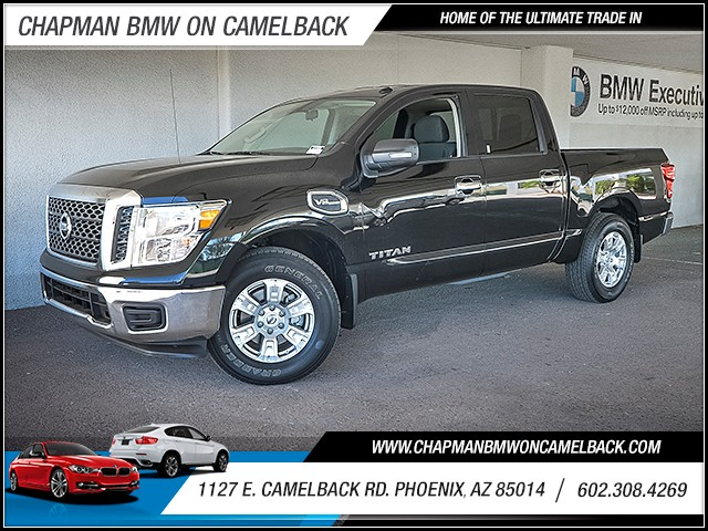 2017 Nissan Titan SV Crew Cab 14826 miles 6023852286 Chapman Value Center in Phoenix special