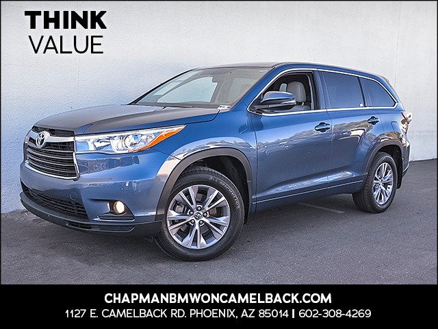 2016 Toyota Highlander LE Plus 43956 miles 6023852286 Chapman Value Center in Phoenix specia