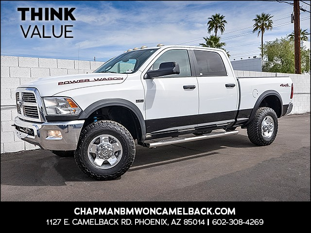 2011 Ram 2500 Power Wagon Crew Cab 30518 miles Wireless data link Bluetooth Phone pre-wired for