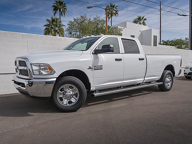 2016 Ram 2500 Tradesman Crew Cab 24182 miles Phone pre-wired for phone Cruise control Rolling c