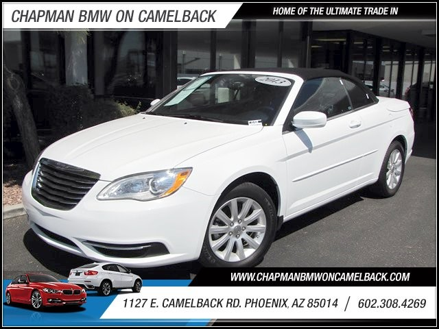 2013 Chrysler 200 Convertible Touring 19833 miles Remainder of Manufacturers Warranty Satellite c
