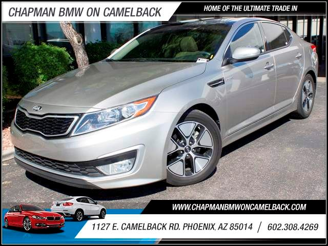2013 Kia Optima Hybrid EX 32985 miles 1127 E Camelback BUY WITH CONFIDENCE Chapman BMW is