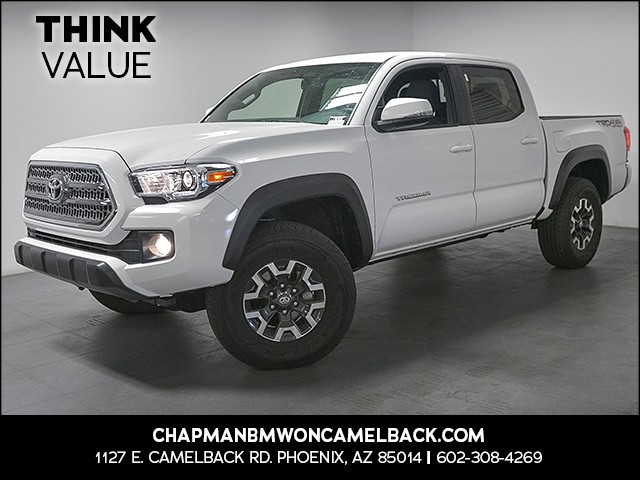 2017 Toyota Tacoma TRD Off-Road Crew Cab 9863 miles 6023852286 Chapman Value Center in Phoen