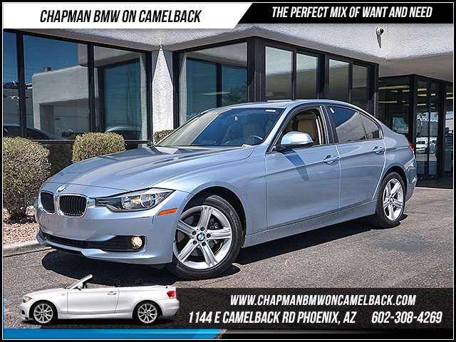 2015 BMW 3-Series Sdn 320i 37046 miles Phone hands free Wireless data link Bluetooth Satellite