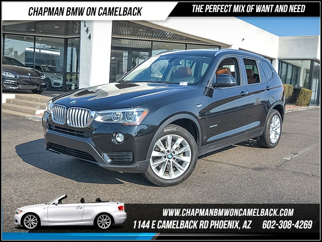 2015 BMW X3 sDrive28i 28013 miles 6023852286 Chapman BMW on Camelback CPO Sales Event Ove
